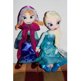 Jégvarázs Frozen plüss Anna hercegnő  50 cm Anna baba ( új )