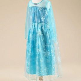 Jelmez - Jégvarázs Elza jelmez Elsa hercegnő ruhája - Frozen ( új )