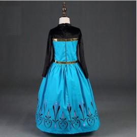 Jelmez - Jégvarázs Elza koronázási ruhája Elsa jelmez frozen ruha ( új )