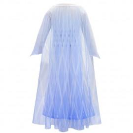 Jelmez - Jégvarázs 2 ruha Gyönyörű Elza jelmez Elsa fehér ruhája ( új )
