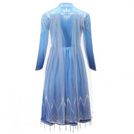 Jelmez - Jégvarázs 2 Elza ruhája, Elsa királynő jelmez ( új )