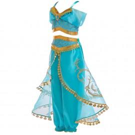 Jelmez - Jázmin hercegnő ruha többféle méretben Jázmin jelmez ( új )
