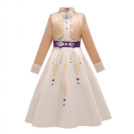 Jelmez - Jégvarázs 2. Anna jelmez Disney Hercegnő Princess ruha ( új )