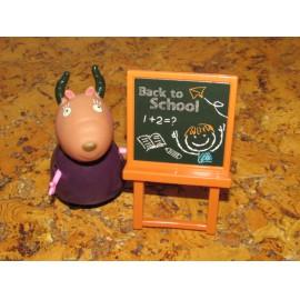 Peppa malac osztályterme Peppa figura készlet 15 db figurával ( új )
