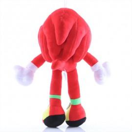 Sonic plüss - Knuckles a hangyászsün, piros 28 cm-es ( új )