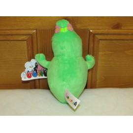 Barbalala plüss, 15 cm-es zöld Barba plüssjáték a Barbapapa című mesesorozatból ( új )