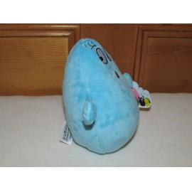 Barbügyes - Barbatudor plüss, 15 cm-es kék plüssjáték a Barbapapa című mesesorozatból ( új )