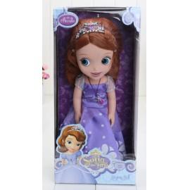 Új Szófia hercegnő baba dobozban Sofia hercegnő 30 cm magas