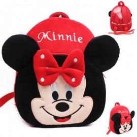 Minnie egér hátizsák rózsaszín és piros színben, bölcsis és ovis hátitáska ( új )