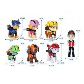 Mancs Őrjárat figura szett, 7 db-os Paw Patrol játékfigura szett ( új )