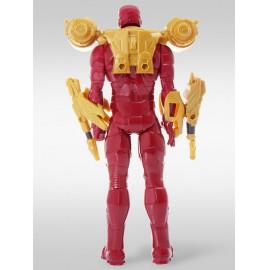 Marvel Avengers (Bosszúállók) - Vasember akciófigura kiegészítő fegyverekkel, Vasember a Hasbro Titan Hero szériából 30 cm-es ( új )