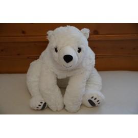 Ikea - Snuttig nagy méretű plüss jegesmedve, ikeás plüss 60 cm