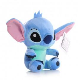 Plüss Stitch kék színben, a Lilo és Stitch című Disney meséből, 20 cm-es változatban ( új )