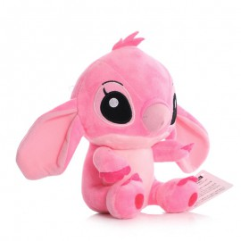 Plüss Stitch rózsaszínben, a Lilo és Stitch című Disney meséből, 20 cm-es változatban ( új )