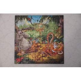 Disney Animal Friends puzzle 3 x 49 db Ravensburger puzzle - Bambi puzzle, Dzsungel könyve puzzle, Oroszlánkirály puzzle