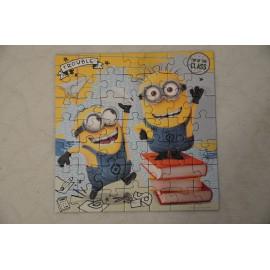 Minyonok Puzzle Gru - 3 x 49 db Ravensburger Despicable Me Minions Puzzle