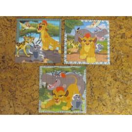 Az oroszlánkirály puzzle 3x49 db-os Ravensburger puzzle, Az oroszlán őrség puzzle