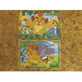 Az oroszlánkirály puzzle 2x24 db-os Ravensburger puzzle, Az oroszlán őrség puzzle