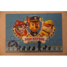 Mancs Őrjárat puzzle 2x12 db-os változatban, Ravensburger Mancs Őrjárat puzzle ( használt )