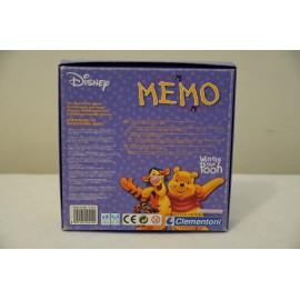 Micimackó memória, Clementoni Memo Micimackós memóriajáték ( használt )
