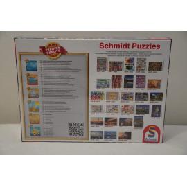 """Schmidt puzzle konyha témában 1000 db-os   - """"Mindent bele"""" konyha puzzle, Schmidt 58141 számú puzzle ( új )"""