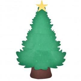 Díszíthető filc anyagú karácsonyfa DIY karácsonyfa ( új )
