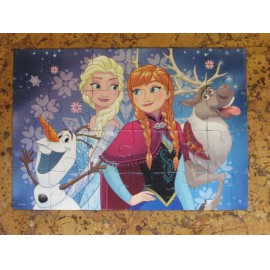 Jégvarázs puzzle 2x24 db-os, Ravensburger Frozen puzzle