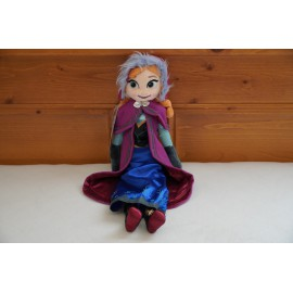 Jégvarázs Frozen plüss Anna hercegnő  40 cm Anna baba ( új )